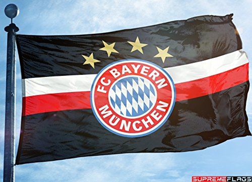 Bayern Munich Flag Banner 3x5 ft