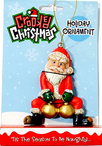 Crooked Santa Ornament]()