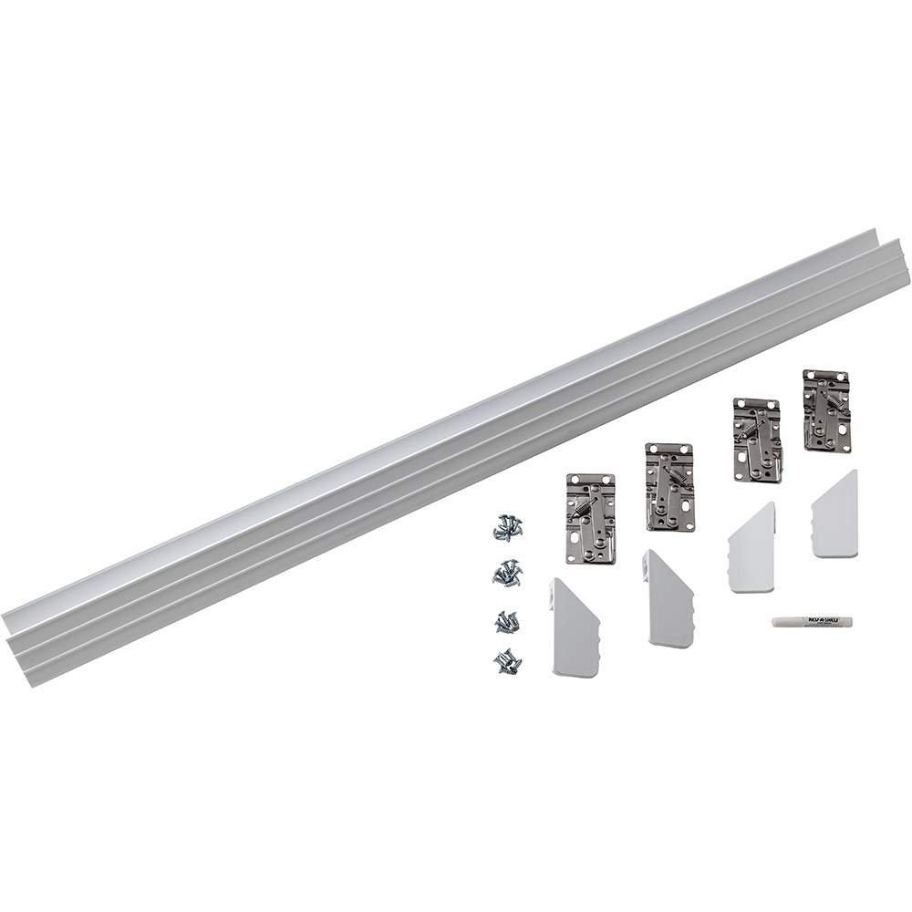 Slim Line Sink Front Tray - White