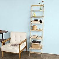 SoBuy Haotian Modern Wooden Ladder Bookcase