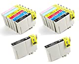 14 Pack - Remanufactured Inkjet Cartridg...