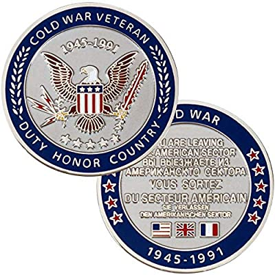 Cold War Veteran Challenge Coin: Clothing