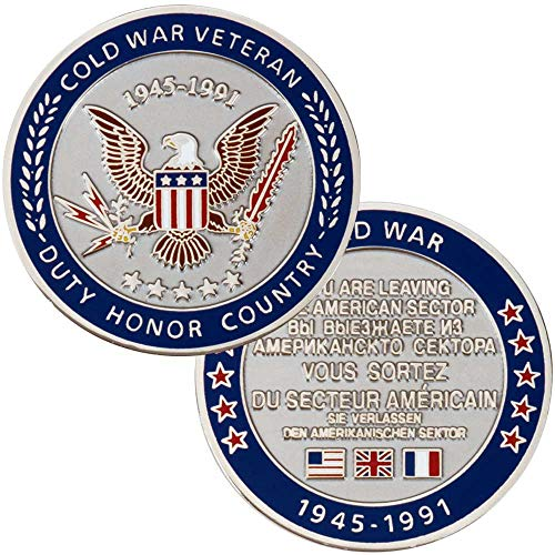 Medals of America Cold War Veteran Challenge Coin ()