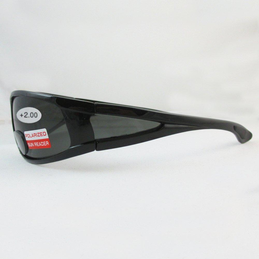 11700529b653 Amazon.com  Polarized Bifocal Sunglasses Mens Womens UV Fishing Reading  Black Brown 2.00 New  Office Products