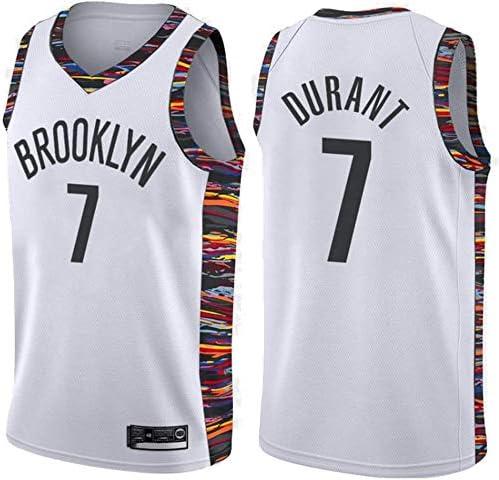 June Bart Camiseta de Baloncesto para Hombre,Mujeres Jersey Hombre - NBA Brooklyn Nets 7# Durant Jerseys Transpirable Bordado Baloncesto Swingman Jersey: Amazon.es: Deportes y aire libre
