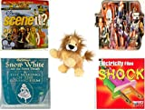 Children's Fun & Educational Gift Bundle - Ages 6-12 [5 Piece] - Includes: Game - Toy - Plush - Hardcover Book - Paperback Book - No. dbund-6-12-23013