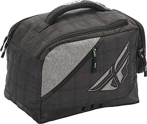 Fly Racing 28-5139 Black/Gray Helmet Garage