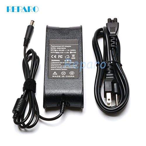 - Reparo 19.5V 3.34A 65W Ac Adapter Laptop Charger for Dell Inspiron 15 (3520),Inspiron 15 (3521), Inspiron 15 (3537), Inspiron 15R (5520), Inspiron 15R (5521), Inspiron 15R (7520), Inspiron 15R N5110