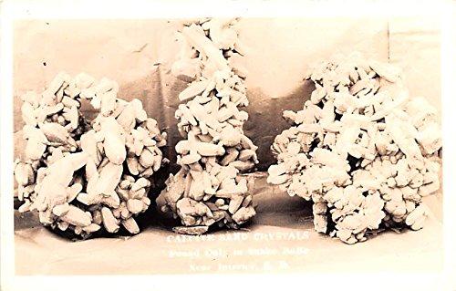 Crystal Dakota - Calcice Sand Crystals Interior, South Dakota postcard