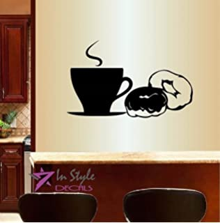 Amazoncom Wall Vinyl Decal Home Decor Art Sticker Tooth With - Vinyl cup brush
