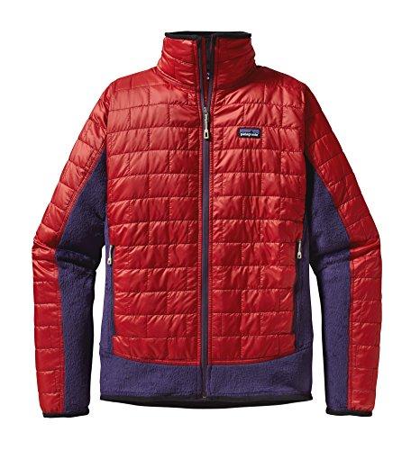 Patagonia M's Nano Puff Hybrid Jkt Cochineal Red ()