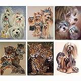 BeesClover 5d,Diamond Painting Cross Stitch,Diamond Mosaic,Needlework,Crafts,Full Diamond Embroidery,Animal,Dog,Painting,Decor New Year Chocolate 60x75cm
