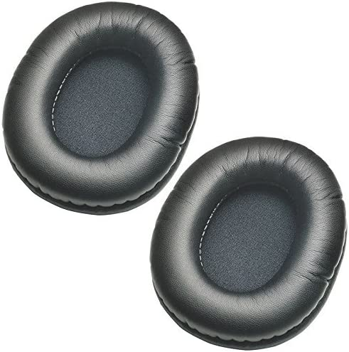 1 Pair Replacement Protein Leather Earpads Ear Cushion for SteelSeries Arctis 3 5 7 Arctis Pro Gaming Headset Headphones ATH-M40fs /& Similar Large Over-The-Ear Headphones