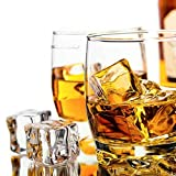 5 Pcs 3cm Square Fake Scatters Artificial Acrylic Ice Cubes Crystal Simulation Decorative Props