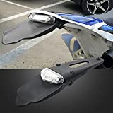 xr650l rear fender - BSK Rear Fender LED Brake Stop Tail Light for Dirt Bike Motocross XR CRF KLX Enduro EXC