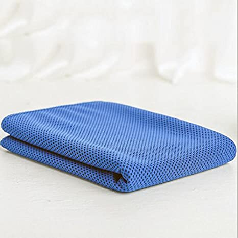 Creative Nuevo hielo toalla refrigeración para alivio instantáneo frío de secado rápido toalla de Fitness (