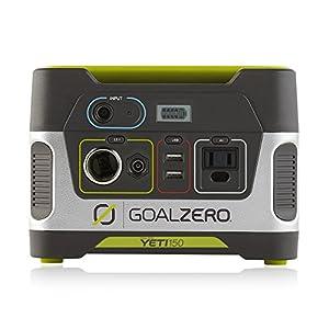 51AzjGRJZpL. SS300  - Goal Zero 22004 Yeti 150 Solar Generator