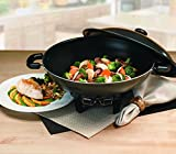 Aroma Housewares AEW-305 Electric Wok with Tempered