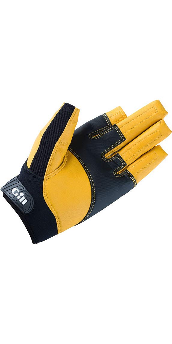 GILL Pro Long Finger Sailing Yachting and Dinghy Gloves - Easy Stretch - Race Proven Flexibility and Comfort