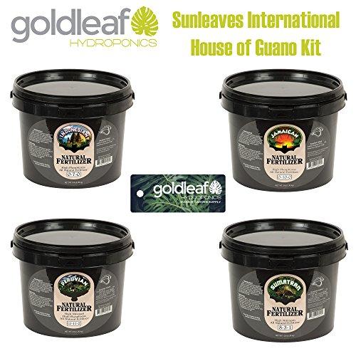 Sunleaves House of Guano Kit Small w/ Peruvian, Jamaican, Indonesian & Sumatran Sunleaves Indonesian Bat