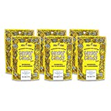Gem Gem Ginger Candy Chewy Ginger Chews (Lemon, 5.0oz, Pack of 6)