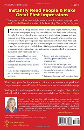 Snap: Making the Most of First Impressions, Body Language, and Charisma by New World Library