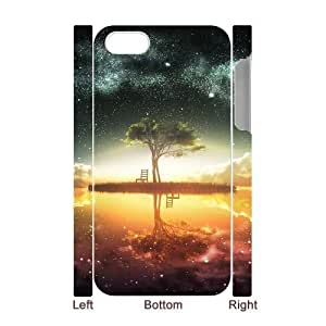 For Ipod Touch 5 Case Cover Scenery 3D Art Print Design Phone Back Case Personalized Hard Shell Protection FG073273