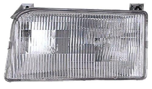 - Eagle Eyes FR088-B001L 92-97 FOR FORD F-SERIES PICKUP (LIGHT, HEAVY, SUPER DUTY): 92-96 FOR FORD F150 (92-92 CUSTOM / XLT LARIAT, 95-96 EDDIE BAUER / SPECIAL, 93-95 LIGHTNING, 92-96 XL, 93-96 XLT MODEL) / 92-97 FOR FORD F250 (97-97 BASE / LARIAT, 95-96 EDDIE BAUER / SPECIAL, 92-92 CUSTOM / XLT LARIAT, 92-97 XL, 93-97 XLT MODEL) / 92-96 FOR FORD F350 (ALL MODEL) / 92-96 F550 (ALL MODEL) / 92-96 FOR FORD F53 / 92-94 FOR FORD F59 / 92-96 FOR FORD BRONCO HEADLIGHT - DRIVER SIDE ASSEMBLY