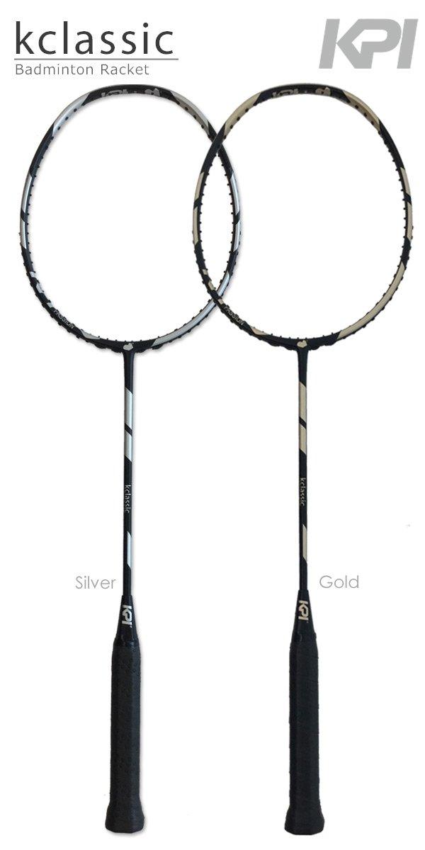 KPI「K classic Badminton バドミントンラケット SpaceGray/Gold」KPIオリジナル商品 B07DW664TM