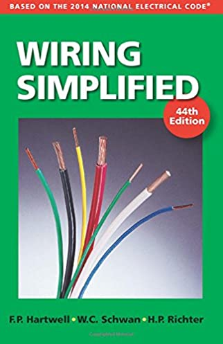 wiring simplified based on the 2014 national electrical code, electrical diagram, electrical wiring residential book