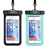 Universal Waterproof Case, GreenElec IPX8 Certified Waterproof Phone Pouch Dry Bay with Neck Strap for iPhone X,8,8 Plus,7,7 Plus,6,6S,6S Plus,5S, Samsung Galaxy S9,S8,S7 HTC LG Google PH-1 up to 7.0″