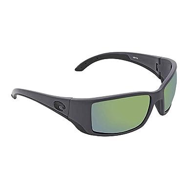 Costa Del Mar BL98OGMP Blackfin - Gafas de Sol polarizadas rectangulares para Hombre, Marco Gris