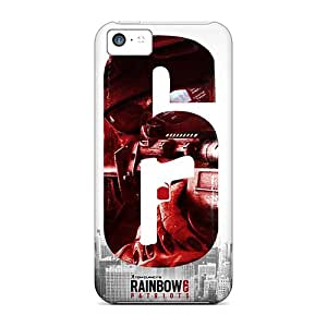 New Rainbow 6 Patriots Tpu Case Cover, Anti-scratch Richavans Phone Case For Iphone 5c