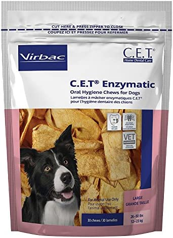 H C Animal Health C.e.t. Enzymatic Chews for Dogs