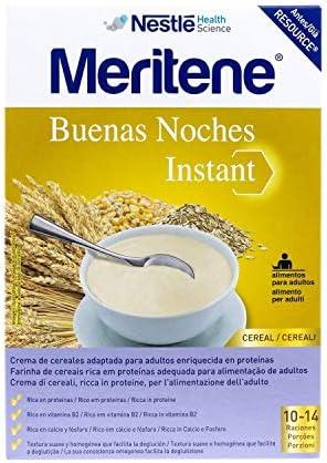 Meritene Cereales Instant, 500 g, Pack de 1: Amazon.es: Salud y cuidado personal