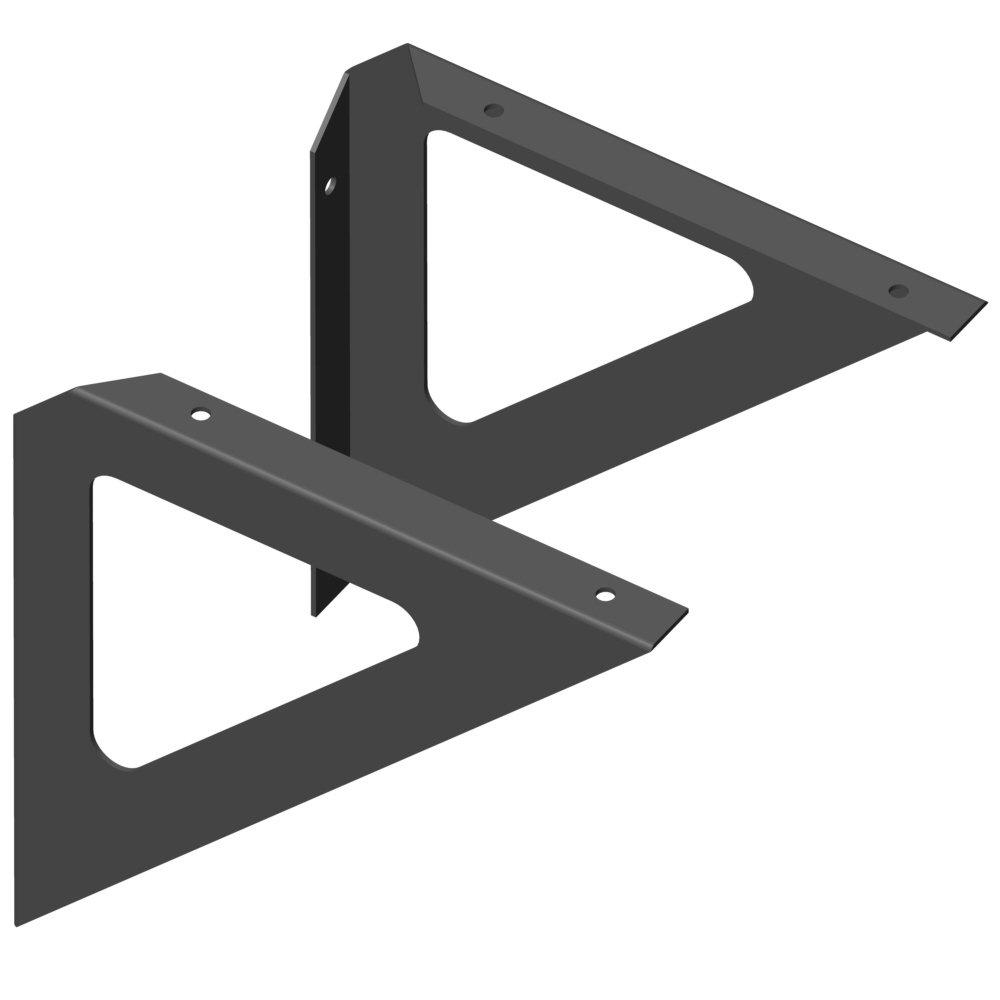 Bord-Winkel T190 H190 mm schwarz