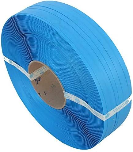 1 Bobina Fleje pl/ástico Azul Medidas Fleje: 13 x 0,8mm Calidad de la bobina Gofrado. Fleje Manual de 1.200m lineales