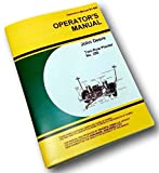 John Deere Corn Planter Two Row No 290 Owners Operators Manual Plate Service Jd