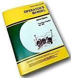 John Deere Corn Planter Two Row No 290 Owners Operators Manual Plate Service Jd