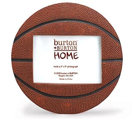 Amazon.com - Basketball Shaped Picture Frame - Perfect for Sports ...