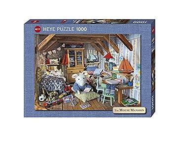 Heye 29558 - Standardpuzzle, Karina Schaapma, Mansion Reader, 1000 Teile