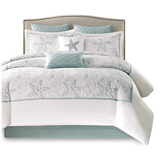 Harbor House Maya Bay Duvet Cover Mini Set White King Beachfront