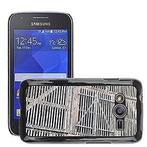 Etui Housse Coque de Protection Cover Rigide pour // M00153233 Puerta de madera tablas de madera de // Samsung Galaxy Ace4 / Galaxy Ace 4 LTE / SM-G313F