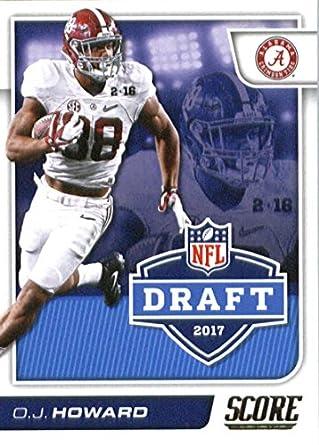 more photos e265c c4799 Amazon.com: 2017 Score NFL Draft #10 O.J. Howard Alabama ...