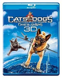 Cats & Dogs: The Revenge of Kitty Galore (Bilingual) [Blu-ray 3D + Blu-ray + DVD + Digital Copy]