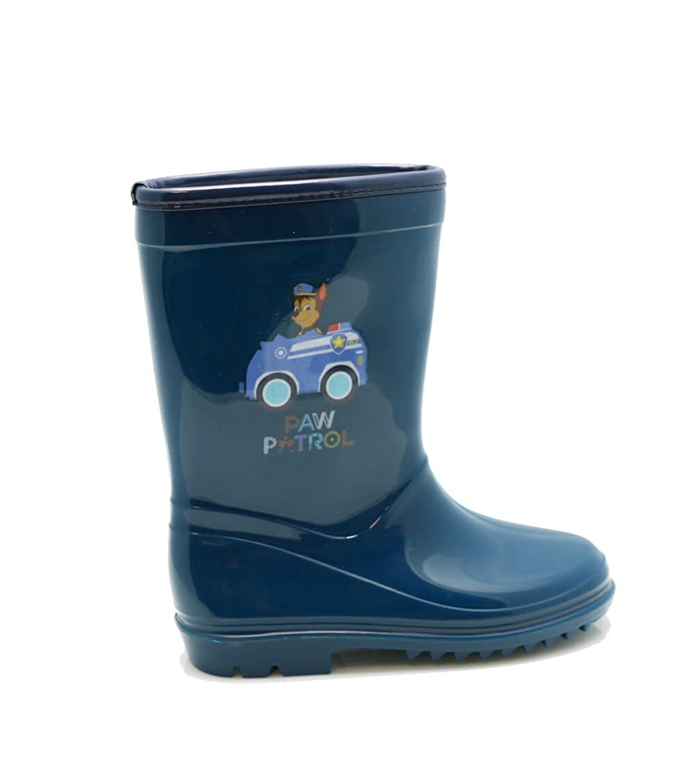 802b7531cfc Cerda Paw Patrol - botas de Lluvia de caucho Wellington Para Niños Zapatos  de Goma de Bungeing Impermeables de Welly Junior (11 UK Child)   Amazon.co.uk  ...