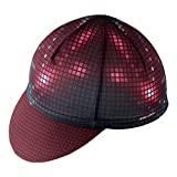 Uriah Cycling Cap Breathable Fits Under Helmet Grids Red