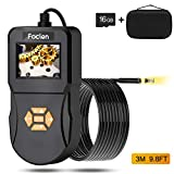 Best Inspection Cameras - Industrial Endoscope, Foclen Borescope Camera 2.4inch IPS Screen Review