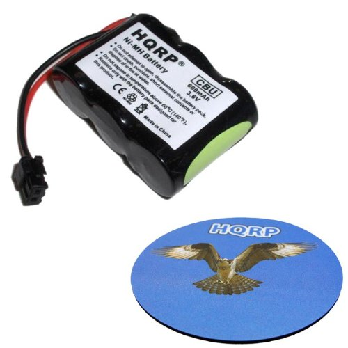 HQRP Cordless Phone Battery for Uniden BT185 / BT-185 / BBTY-0275001 / BBTY0275001 Replacement plus Coaster, Office Central