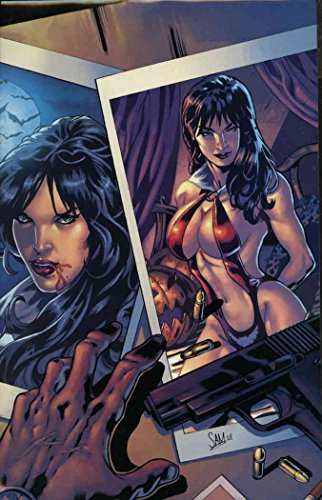 Vampirella Quarterly: Halloween 2008#1B VF ; Harris comic book -